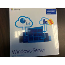 Microsoft Windows Server 2016 Standard 10 Cal