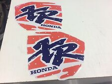 HONDA XR 600 XR 400 XR200 XR250 XR400 XR600 GRAPHICS FUELTANK DECALS STICKERS