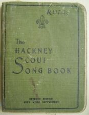 More details for vintage 'the hackney scout song book' 1931