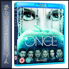 ONCE UPON A TIME - COMPLETE SEASON 4  *BRAND NEW BLURAY **