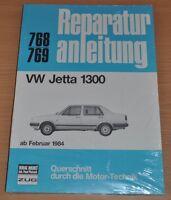 VW Jetta 1300 C CL GL ab Februar 1984 Handbuch Reparaturanleitung B768 OVP