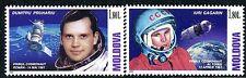 Moldova 2012 - Space - Gagarin - Pruhariu - MNH Set