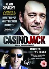 Casino Jack (NEW GENUINE UK DVD R2 PAL + FREE P&P)  Kevin Spacey, Barry Pepper