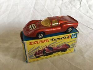 Matchbox Superfast Porsche 910  No. 68  SEE FULL DESCRIPTION