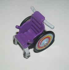 Playmobil Fauteuil Roulant Enfant Violet Roues Colorées Hôpital NEW