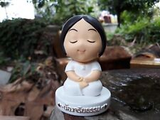 Meditation doll cute girl collection moral doll souvenir from Thailand