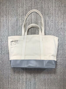 CARHARTT WIP, STEELE, LAUNDRY TOTE BAG, HEAVY UTILITY CANVAS, OFF WHITE, HOLDALL