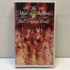 RARE‼ The Magic of Christmas at Walt Disney World VHS Resort Video 1992 • EUC‼