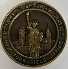 Department of State DSS Diplomatic Security Service New York Field Office 1.625