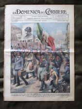 La Domenica del Corriere 14 Aprile 1935 W il Duce Canotti Principe di Piemonte