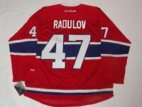 ALEXANDER RADULOV SIGNED RBK MONTREAL CANADIENS JERSEY LICENSED JSA COA