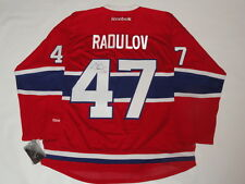 ALEXANDER RADULOV SIGNED RBK NEW 2017 STYLE MONTREAL CANADIENS JERSEY JSA COA