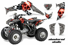 ATV Decal Graphics Kit Quad Sticker Wrap For Honda TRX250X 2006-2018 CHECKER R S