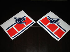 1985 YAMAHA YZ 125/250 GAS TANK DECALS AHRMA