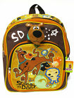Scooby Doo Brown Backpack Bookbag Kid Boy School Shoulder Bag #056 Mummy