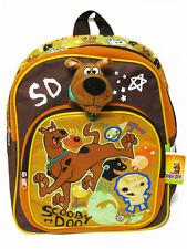 Scooby Doo Brown Backpack Bookbag Kid Boy School Shoulder Bag #056 Mummy