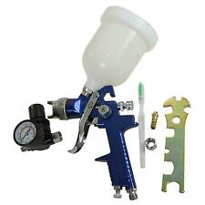 22142120 Hvlp Baja Presión superior Copa Paint Spray Gun Con Regulador De Aire De 2 Mm