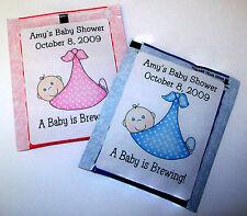 30 BABY SHOWER FAVORS TEA BAG LABELS