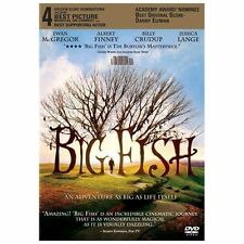 Big Fish (Dvd, 2004) Gently used