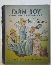 Farm Boy Indian Treasure illustrated Kurt Wiese FIRST EDITION 1934  Phil Strong