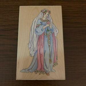 Stamps Happen Inc. #80092 Princess Renaissance Large Stamp Cardmaking