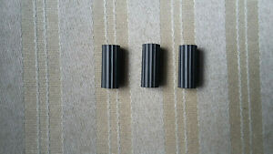 VINTAGE STIGA TABLE HOCKEY GAME REPLACEMENT PARTS 3 ROD GRIPS KNOBS