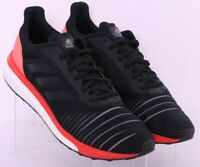 Adidas AC8134 Solar Drive Boost Black Lace-Up Mesh Running Shoes Men's US 11
