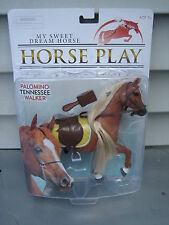 "Lanard My Sweet Dream Horse Palomino Tennesse Walker 7"" New Nip"