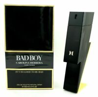 Bad Boy by Carolina Herrera 3.4 oz. Eau de Toilette Spray for Men. New in Box