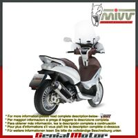 Mivv Approved Complete Exhaust Urban Steel Piaggio Beverly 300 2012 12