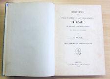 Lehrbuch der Physiologischen und Pathologischen Chemie, Leipzig 1889, Bunge