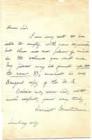 HARRIET MARTINEAU SIGNED AUTOGRAPHED LETTER (1802-1876) AUTHER