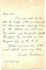 HARRIET MARTINEAU SIGNED AUTOGRAPH LETTER (1802-1876) AUTHER
