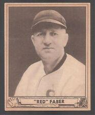 1940 Play Ball high #230 Red Fabor White Sox HOF Ex!