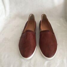 Frye Leather Slip-on Shoes - Melanie, Cognac, Size 11 M, New