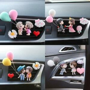 Lovely Couple Girl Boy Car Air Vent Freshener Perfume Clip Aroma HOT SALE