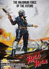 MAD MAX Movie Poster 1979 Mel Gibson A3 Art Imprimé Photo Affiche GZ6085