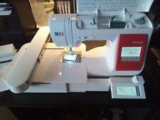 Nähmaschine Wertarbeit W6 N 5000 mit Stickeinheit EU 5 wie neu Stickmaschine