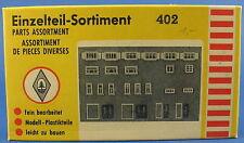 FALLER 402 - Einzelteile-Sortiment - Fenster und Türen - Spur H0 - Eisenbahn
