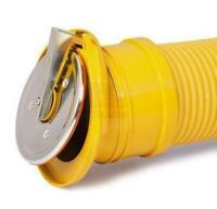 Rohrklappe 110 mm für Dränage universelle Verbindung Abwasser Klappe Dränrohre