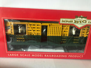 Bachmann 98705 C&NW Animated Moving Horses Stock Car &Metal Wheels FREE SHIPPING