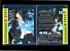Code: Breaker: The Complete Anime Series (Brand New 4 Disc Blu-ray/DVD Combo Set