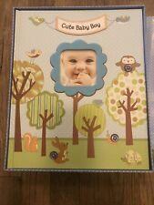 New Seasons Hardcover Book 60 Pages Cute Baby Boy Keepsake Book And Box New