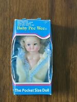 1993 Uneeda Baby Pee Wee The Pocket Size Doll Blonde in Box