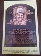 tim raines hall of fame postcard 2017 mlb hof baseball cancel stamp induction