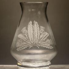 Clear Etched Vintage Original Crystal & Cut Glass