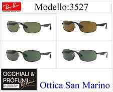 Ray-ban Occhiali da sole 3527 029/9a opache Gunmetal Verde scuro Polarizzati