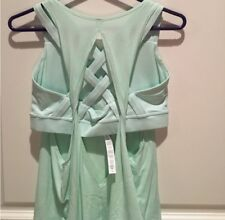 NEW! Lululemon Twist Ready & Go Tank Size 2 Regal Sea Green  SOLD OUT $68