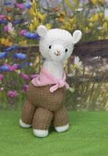 Alpaca Punch Toy Knitting Pattern Instructions to Make Yourself KBP 232