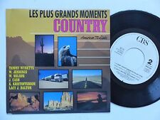 Grands moments country JOHNNY CASH WYNETTE JENNINGS KRISTOFFERSON PRO 526 rrr
